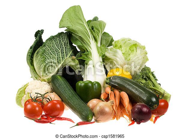 verduras frescas - csp1581965