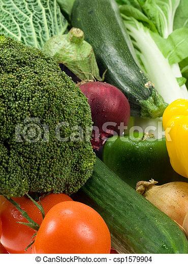 verduras frescas - csp1579904