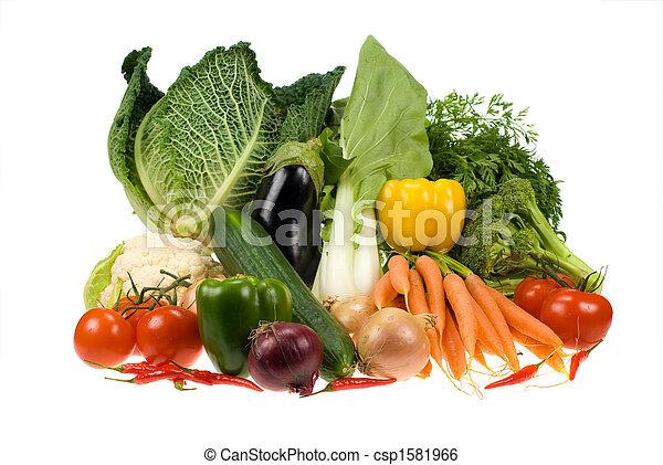 verduras frescas - csp1581966
