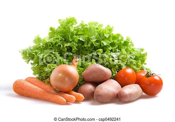 Verduras frescas - csp0492241