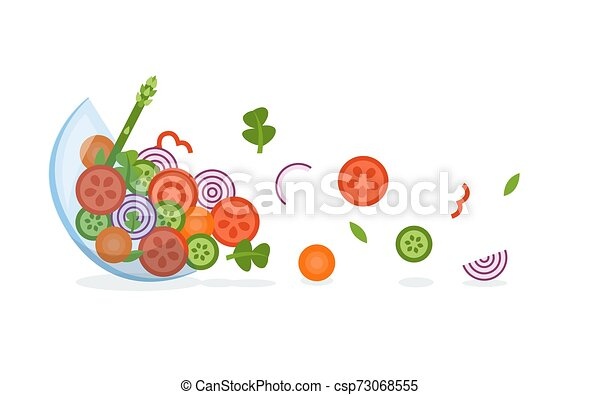 Verduras frescas - csp73068555