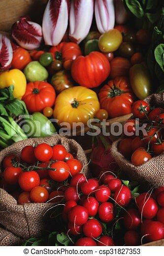 verduras mezcladas - csp31827353
