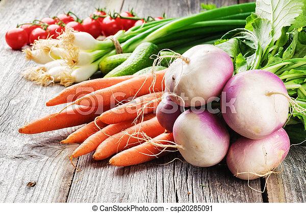 verdure fresche, organico - csp20285091