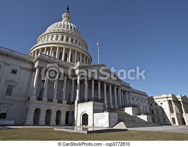 verenigd, capitool, staten - csp3772810