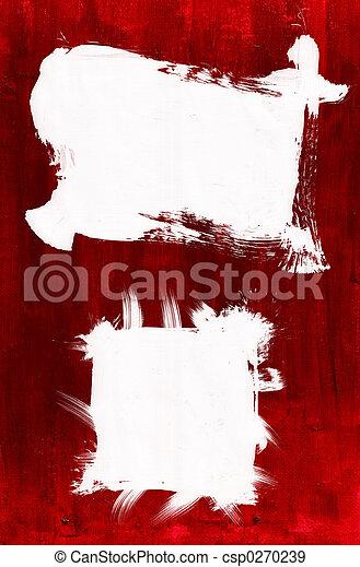 verf , acryl, ingelijst - csp0270239