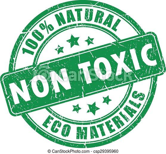 vergiftig, postzegel, niet, product - csp29395960