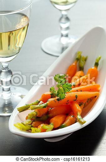 verglaasd, wortels - csp16161213