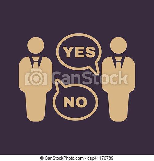 Verhandlung wohnung diskussion symbol dialog icon for Meine wohnung click design download