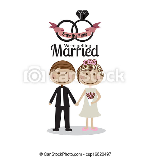 Verheiratetes Design - csp16820497