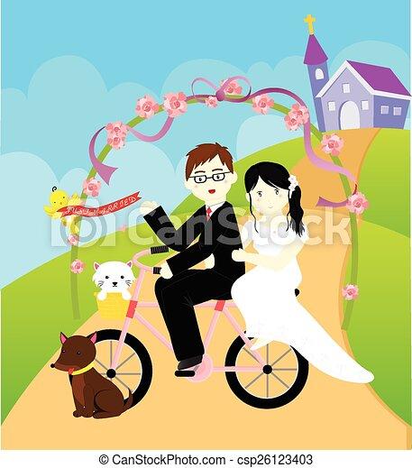 verheiratet, gerecht - csp26123403