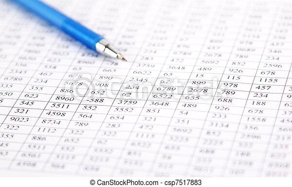 verificar, -, balance, preparación - csp7517883