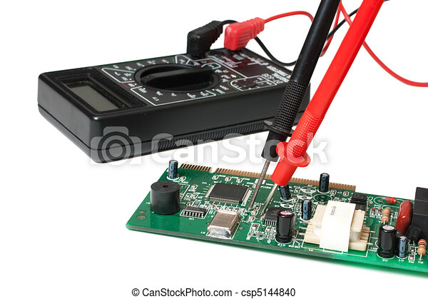 verification testing of electronic boards digital multimeter isolatedverification testing of electronic boards digital multimeter csp5144840