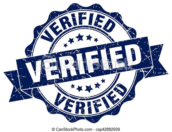 verified stamp. sign. seal - csp42882939