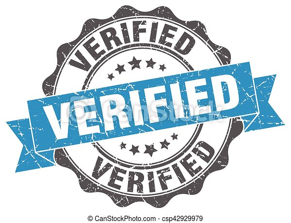 verified stamp. sign. seal - csp42929979