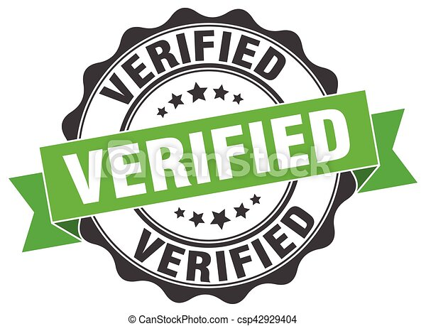 verified stamp. sign. seal - csp42929404