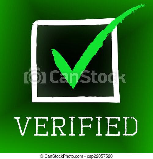 verifiziert bedeutung