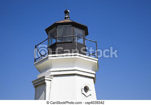 Vermilion Lighthouse - csp4039342