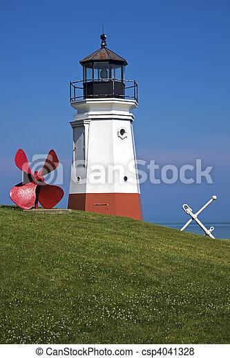 Vermillion Lighthouse - csp4041328