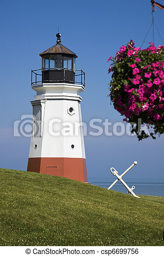 Vermillion Lighthouse - csp6699756