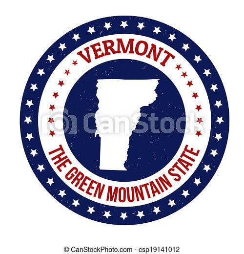 Vermont stamp - csp19141012