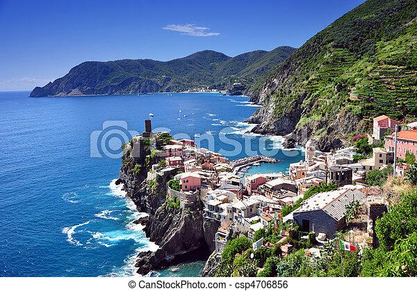 Vernazza, Cinque Terre, Italy - csp4706856