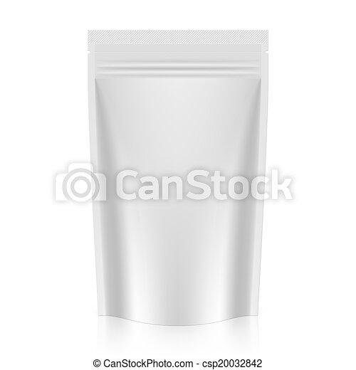 verpakking, zak, opstaan - csp20032842