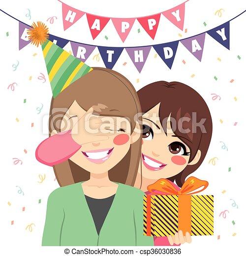 Verrassing Verjaardag Geschenk Eyes Dochter Haar Cadeau