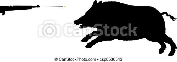 verrat, chasse - csp8530543