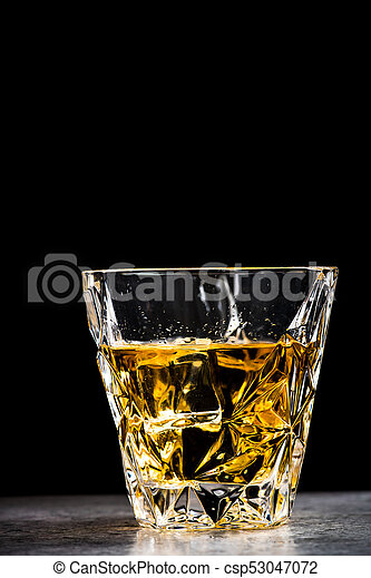 Verre, Cognac, Whisky, Ou, Cristal