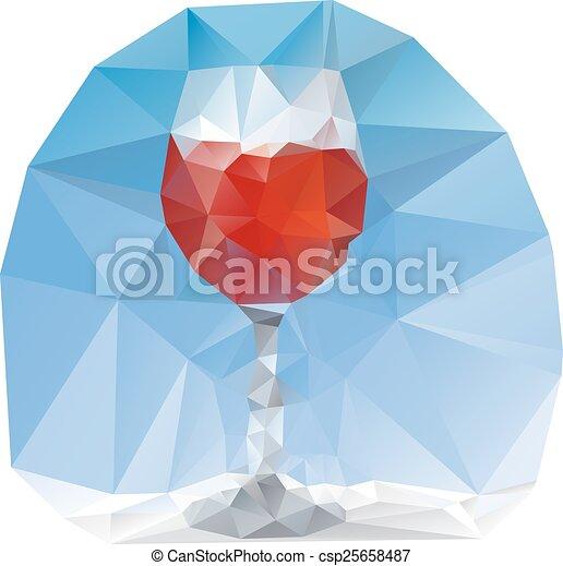 verre cristal - csp25658487