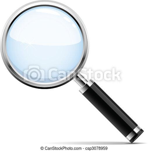 verre, magnifier - csp3078959