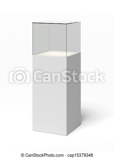 verre vide vitrine vitrine isol verre fond blanc vide. Black Bedroom Furniture Sets. Home Design Ideas