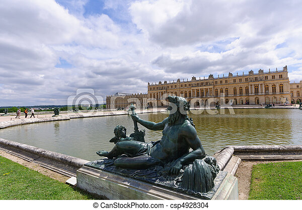 Versailles, France - csp4928304