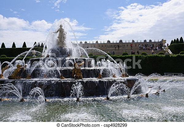 Versailles, France - csp4928299