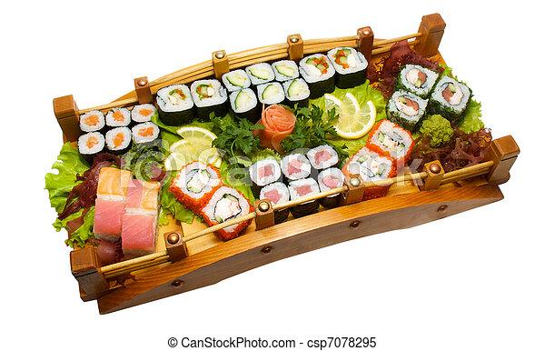 verschieden satz maki sushi arten nigiri stockbilder suche stockfotos fotografien und. Black Bedroom Furniture Sets. Home Design Ideas