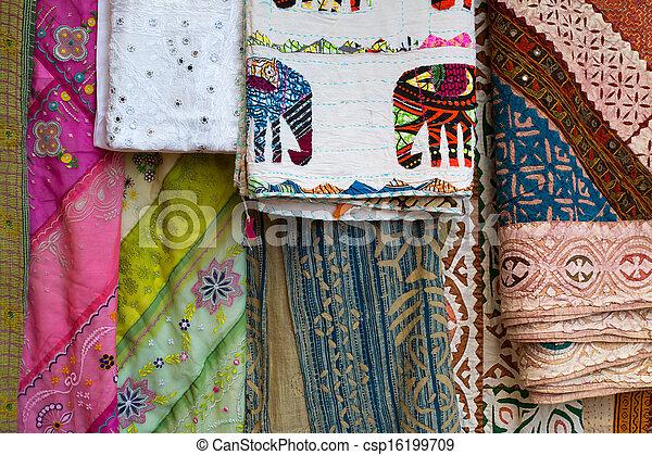 Stoff Färben verschieden stoff traditionelle farben indische