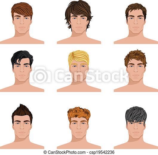 Männer frisuren junge Mittellange Männerfrisuren