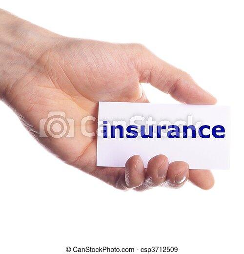 versicherung - csp3712509