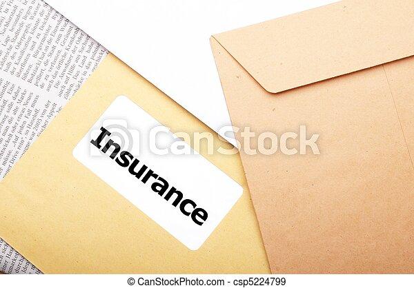 Versicherung - csp5224799