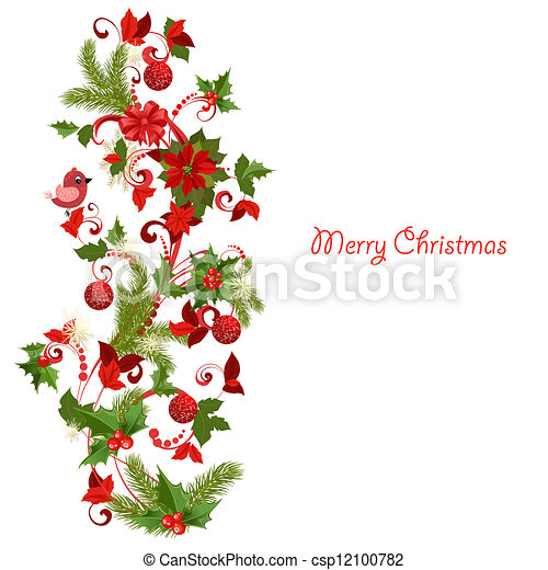 versiering, kerstmis - csp12100782