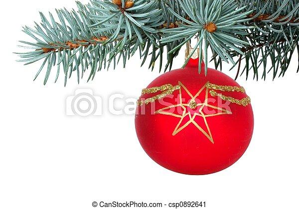 versiering, kerstmis - csp0892641