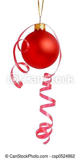 versiering, kerstmis - csp0524862