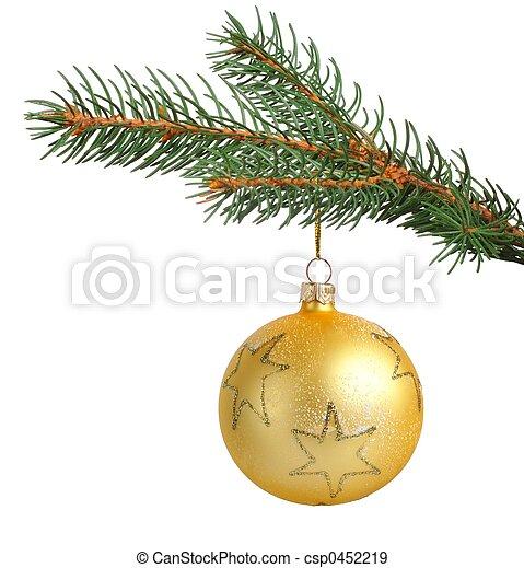 versiering, kerstmis - csp0452219