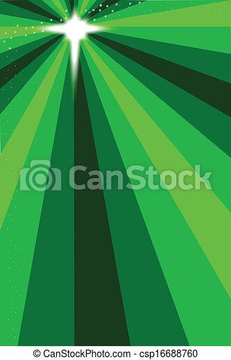 vert, étoile, noël - csp16688760