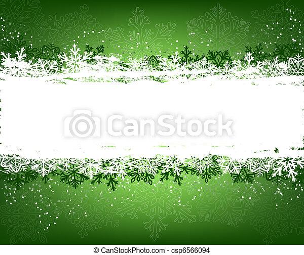 vert, hiver, fond - csp6566094