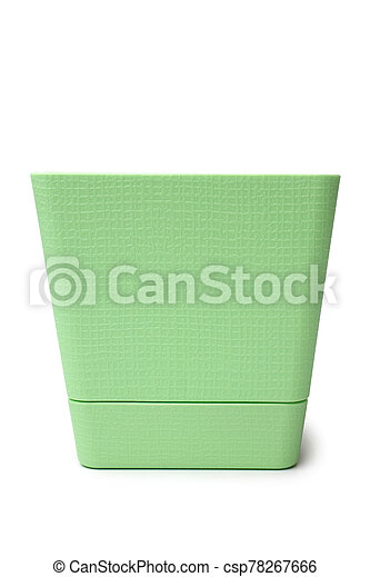 vert, pot fleurs - csp78267666
