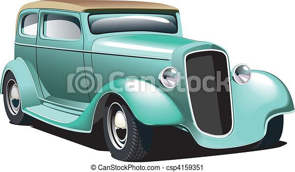vert, rod chaud - csp4159351