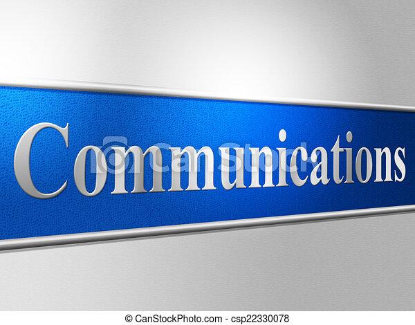 vertegenwoordigt, netwerk, kletsende, globale mededelingen, computer - csp22330078