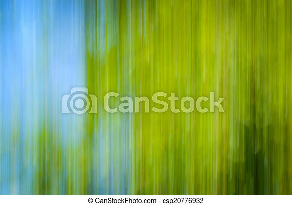 vertical blurred moving the country - csp20776932