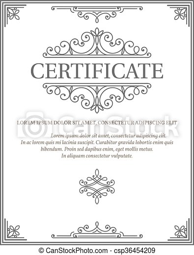 vertical certificate template diploma vertical certificate template